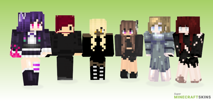 Gothic Minecraft Skins - Best Free Minecraft skins for Girls and Boys