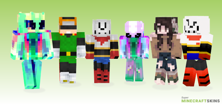 Great Minecraft Skins - Best Free Minecraft skins for Girls and Boys