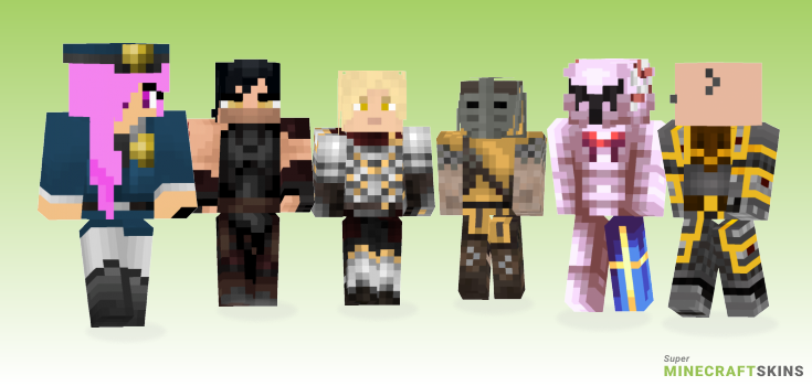 Guard Minecraft Skins - Best Free Minecraft skins for Girls and Boys