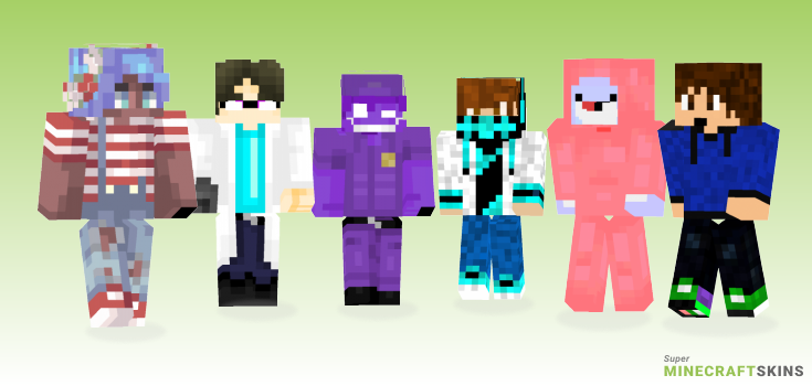 Guy Minecraft Skins - Best Free Minecraft skins for Girls and Boys