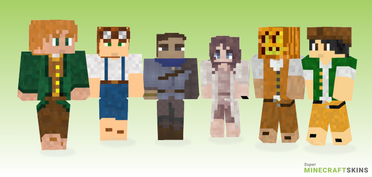 Halfling Minecraft Skins - Best Free Minecraft skins for Girls and Boys