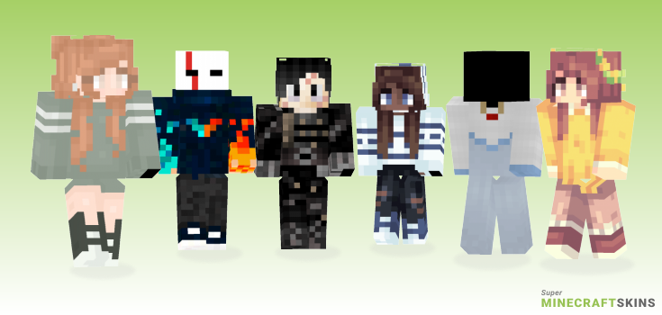 Hands Minecraft Skins - Best Free Minecraft skins for Girls and Boys