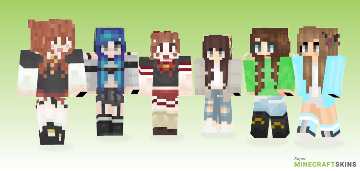 Hannah Minecraft Skins - Best Free Minecraft skins for Girls and Boys