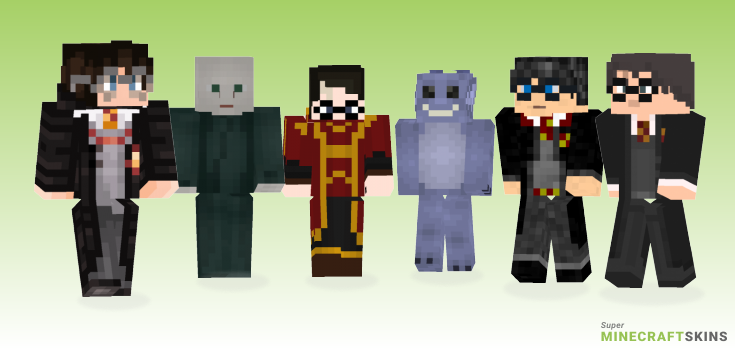 Harry Minecraft Skins - Best Free Minecraft skins for Girls and Boys