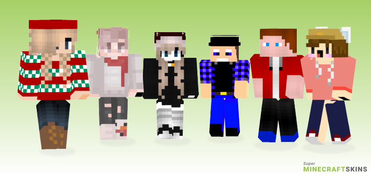 Hat Minecraft Skins - Best Free Minecraft skins for Girls and Boys
