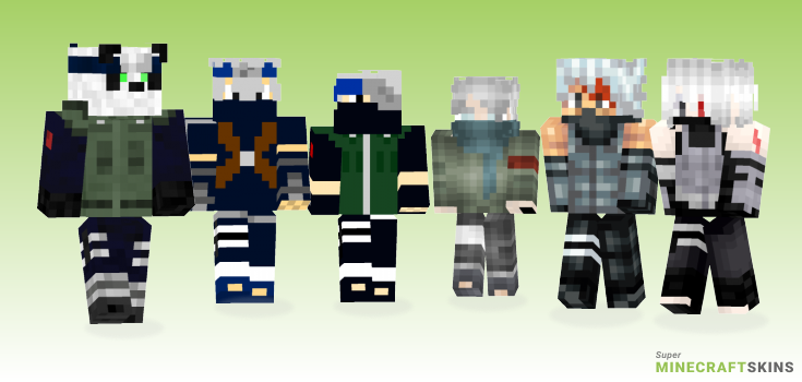 Hatake Minecraft Skins - Best Free Minecraft skins for Girls and Boys