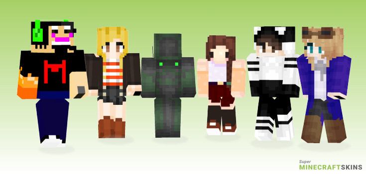 Have Minecraft Skins - Best Free Minecraft skins for Girls and Boys