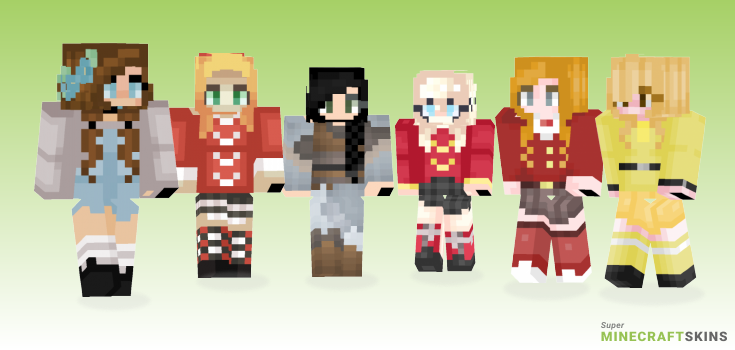 Hear Minecraft Skins - Best Free Minecraft skins for Girls and Boys