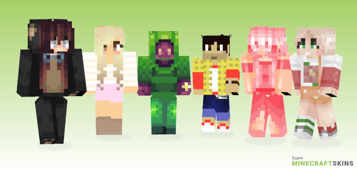 Hello Minecraft Skins - Best Free Minecraft skins for Girls and Boys