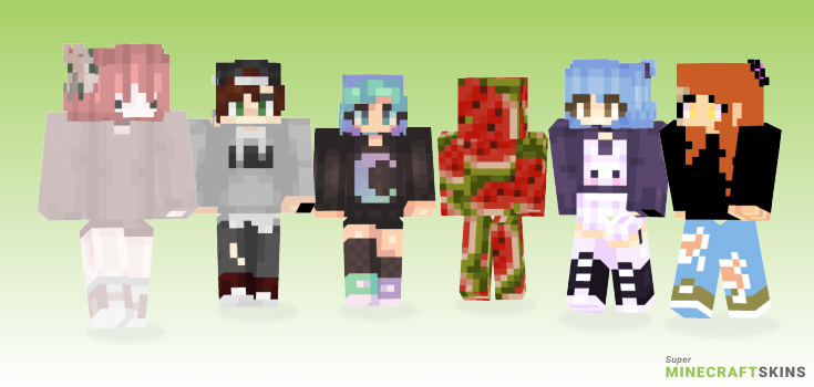Help Minecraft Skins - Best Free Minecraft skins for Girls and Boys