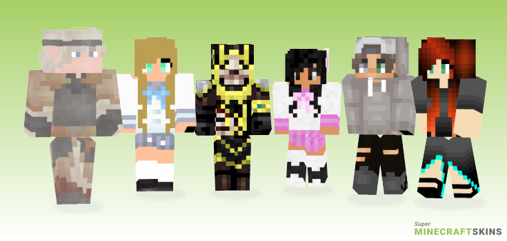 High Minecraft Skins - Best Free Minecraft skins for Girls and Boys