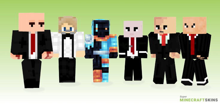 Hitman Minecraft Skins - Best Free Minecraft skins for Girls and Boys