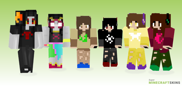 Homestuck Minecraft Skins - Best Free Minecraft skins for Girls and Boys