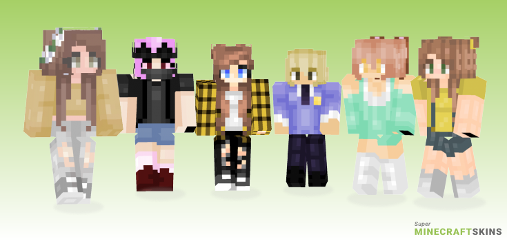 Honey Minecraft Skins - Best Free Minecraft skins for Girls and Boys