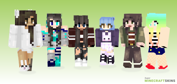Hop Minecraft Skins - Best Free Minecraft skins for Girls and Boys