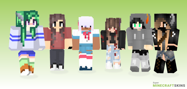 Horns Minecraft Skins - Best Free Minecraft skins for Girls and Boys