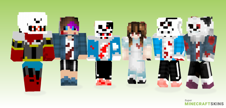 Horrortale Minecraft Skins - Best Free Minecraft skins for Girls and Boys