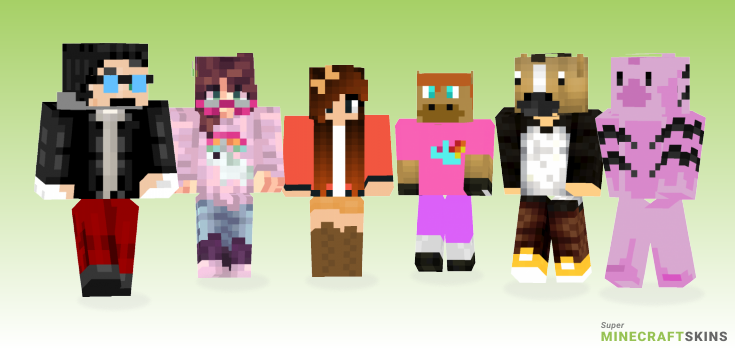Horse Minecraft Skins - Best Free Minecraft skins for Girls and Boys