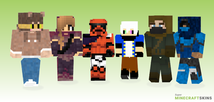 Hunter Minecraft Skins - Best Free Minecraft skins for Girls and Boys