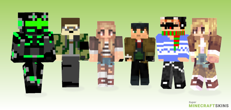 Huntsman Minecraft Skins - Best Free Minecraft skins for Girls and Boys