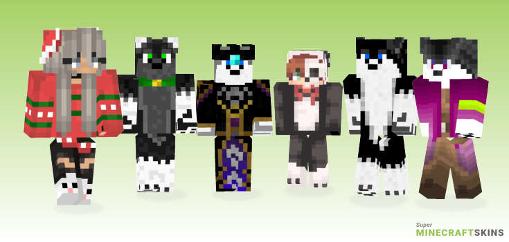 Husky Minecraft Skins - Best Free Minecraft skins for Girls and Boys