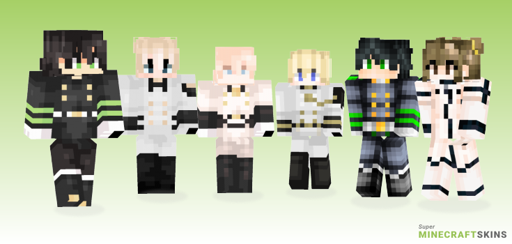 Hyakuya Minecraft Skins - Best Free Minecraft skins for Girls and Boys