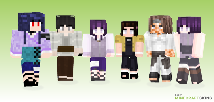 Hyuuga Minecraft Skins - Best Free Minecraft skins for Girls and Boys