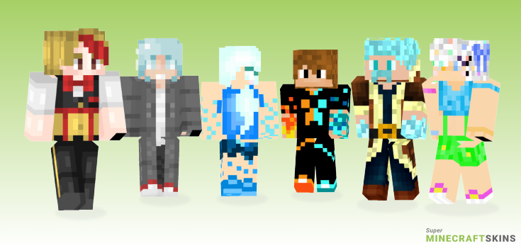 Ice Minecraft Skins - Best Free Minecraft skins for Girls and Boys
