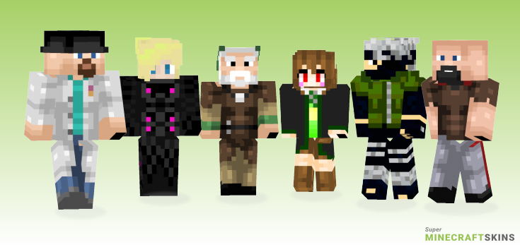 Improved Minecraft Skins - Best Free Minecraft skins for Girls and Boys