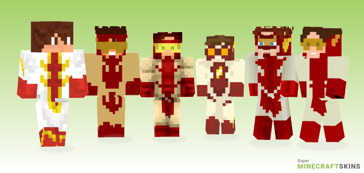 Impulse Minecraft Skins - Best Free Minecraft skins for Girls and Boys