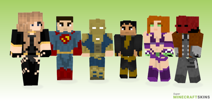 Injustice Minecraft Skins - Best Free Minecraft skins for Girls and Boys