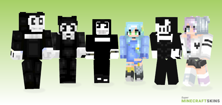 Ink Minecraft Skins - Best Free Minecraft skins for Girls and Boys