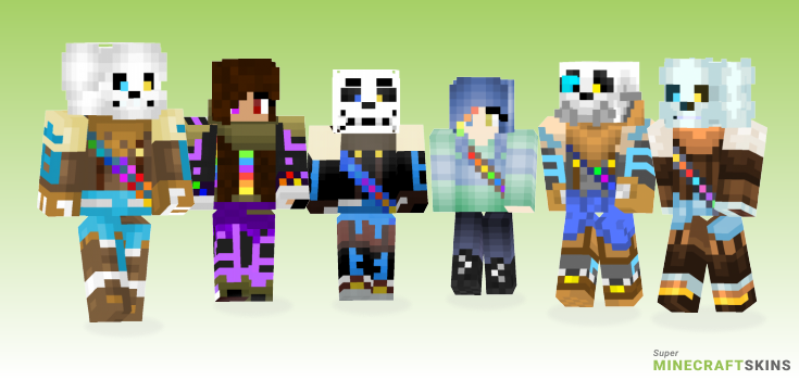 Inktale Minecraft Skins - Best Free Minecraft skins for Girls and Boys