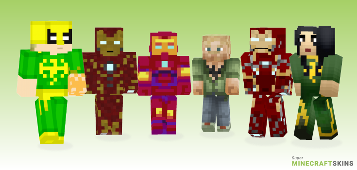 Iron Minecraft Skins - Best Free Minecraft skins for Girls and Boys