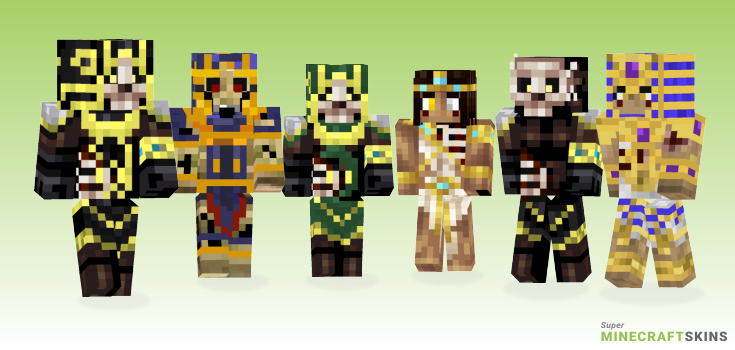 Ishtari Minecraft Skins - Best Free Minecraft skins for Girls and Boys