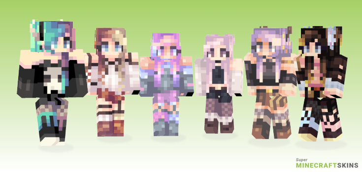 Itimes Minecraft Skins - Best Free Minecraft skins for Girls and Boys