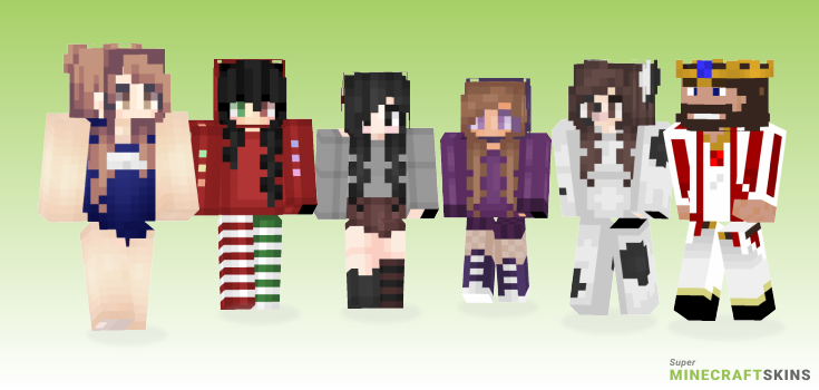 Its Minecraft Skins - Best Free Minecraft skins for Girls and Boys