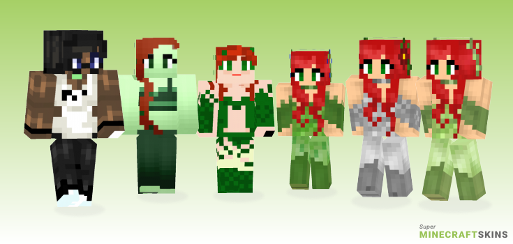 Ivy Minecraft Skins - Best Free Minecraft skins for Girls and Boys