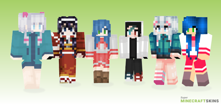 Izumi Minecraft Skins - Best Free Minecraft skins for Girls and Boys