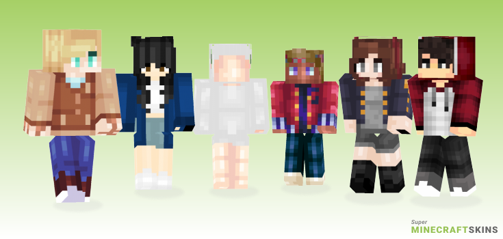 Jacket Minecraft Skins - Best Free Minecraft skins for Girls and Boys