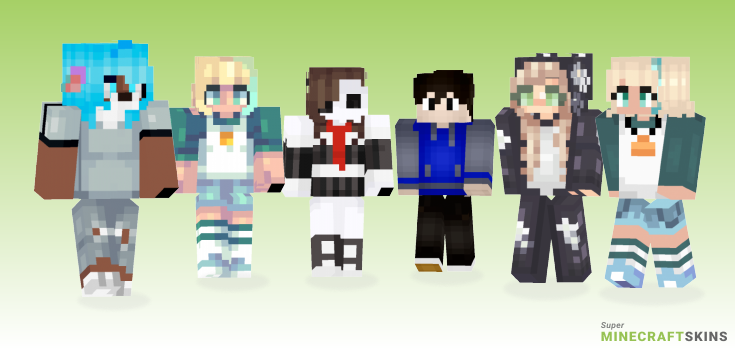 Jackie Minecraft Skins - Best Free Minecraft skins for Girls and Boys