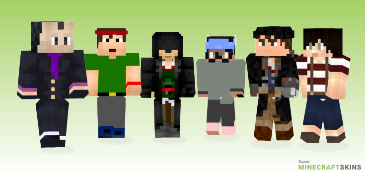 Jacob Minecraft Skins - Best Free Minecraft skins for Girls and Boys