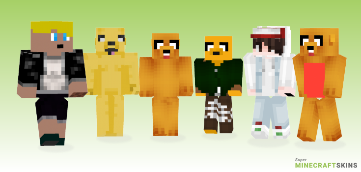 Jake Minecraft Skins - Best Free Minecraft skins for Girls and Boys