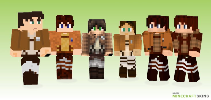 Jeager Minecraft Skins - Best Free Minecraft skins for Girls and Boys