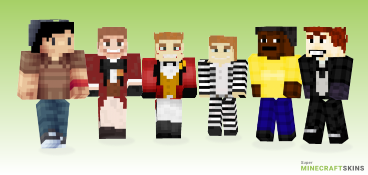 Jerome Minecraft Skins - Best Free Minecraft skins for Girls and Boys