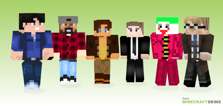 Jim Minecraft Skins - Best Free Minecraft skins for Girls and Boys
