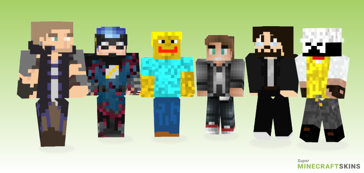 John Minecraft Skins - Best Free Minecraft skins for Girls and Boys