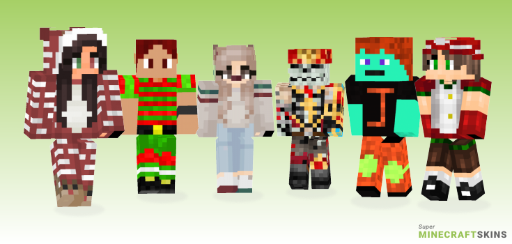 Jolly Minecraft Skins - Best Free Minecraft skins for Girls and Boys