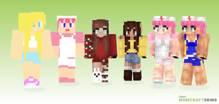 Joy Minecraft Skins - Best Free Minecraft skins for Girls and Boys