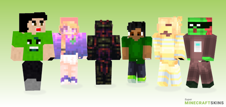Juice Minecraft Skins - Best Free Minecraft skins for Girls and Boys